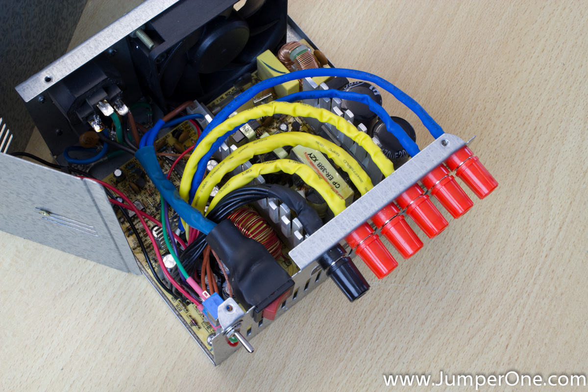 Converting ATX Power Supply to Lab Bench Power Supply » Jumper One
