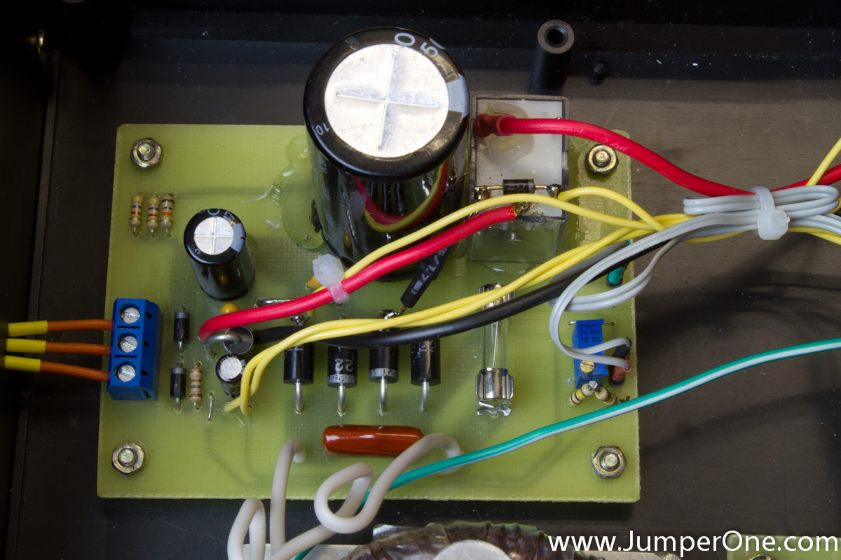 Lm317 Adjustable Power Supply Followup Jumper One All Photos Are Clicable