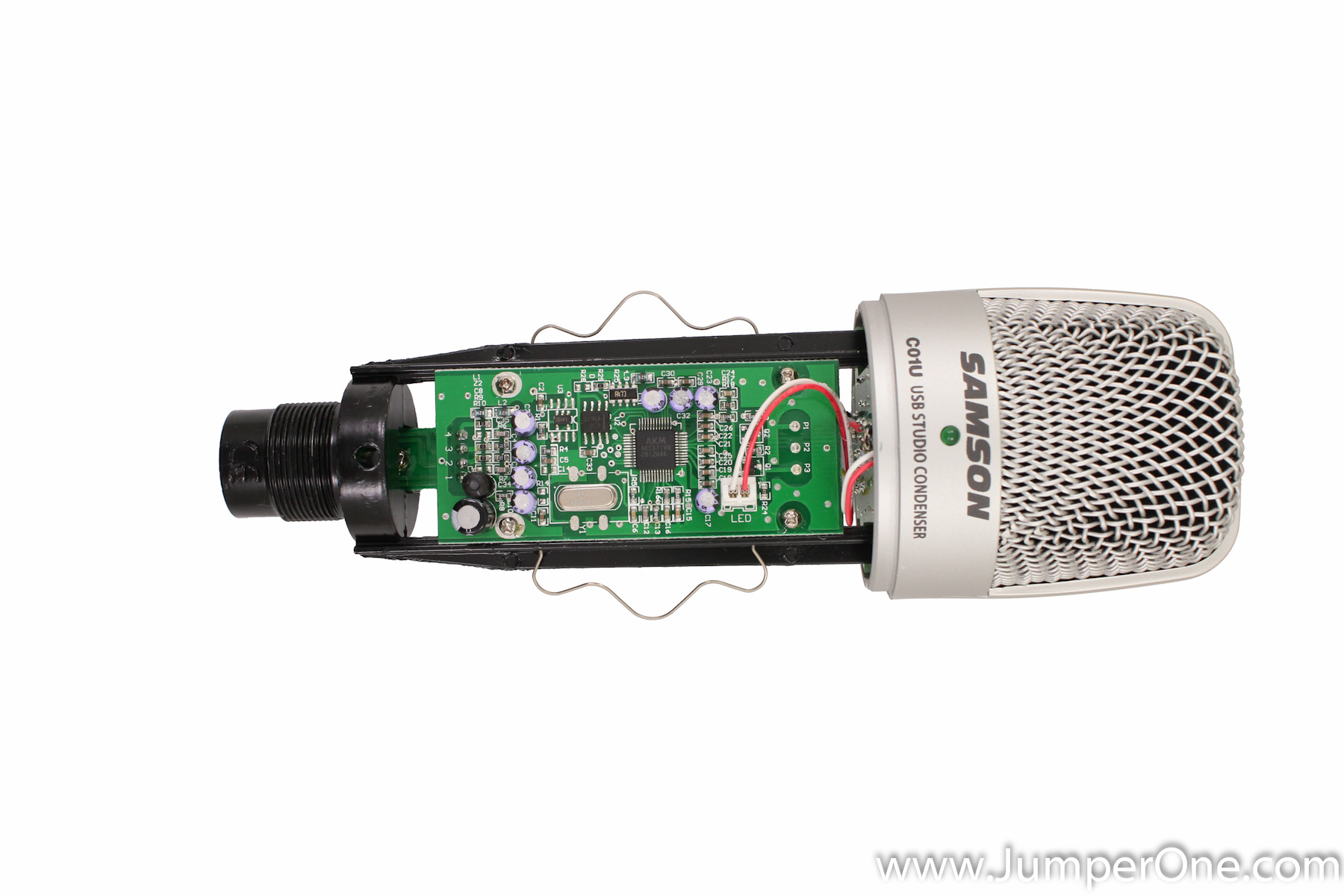 Samson C01U USB Microphone Teardown » Jumper One
