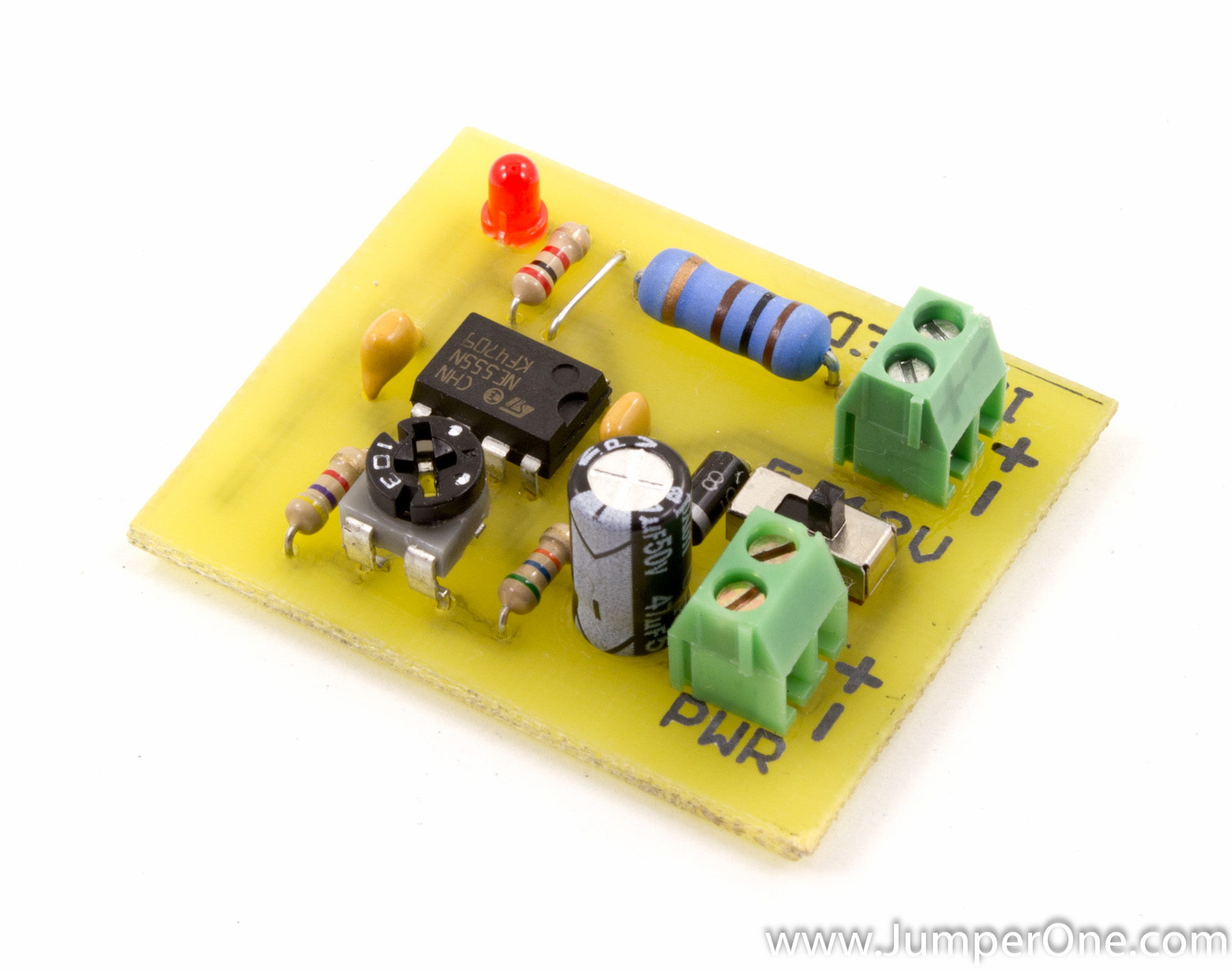 Break Beam Sensor Jumper One As Well Infrared Detector Circuit On Schematic Its Just Ne555 Timer