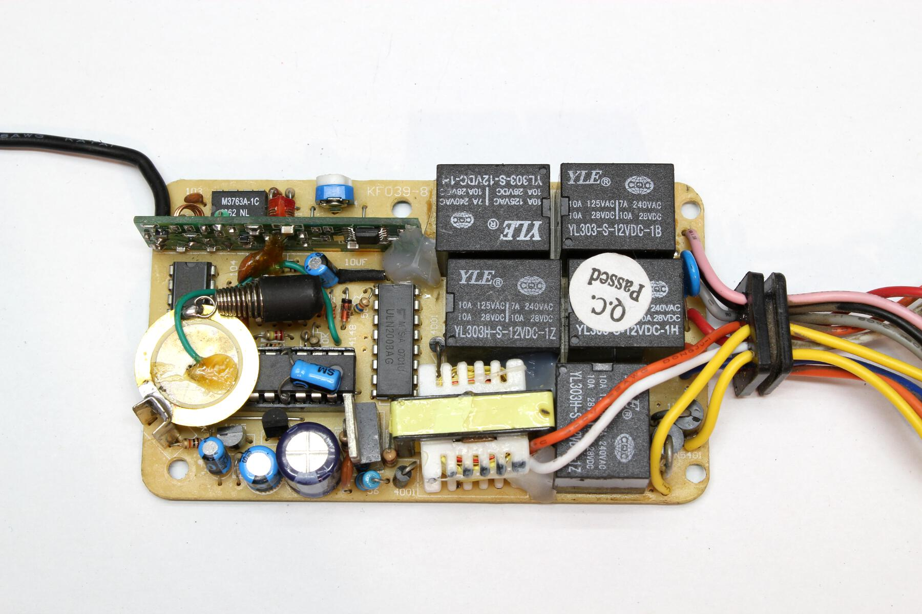 Why You Dont Want To Buy A Cheap Alarm Motorcycle Teardown Where Integrated Circuit Inside